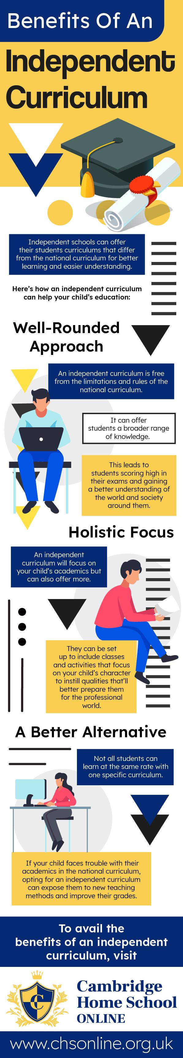 Benefits Of An Independent Curriculum