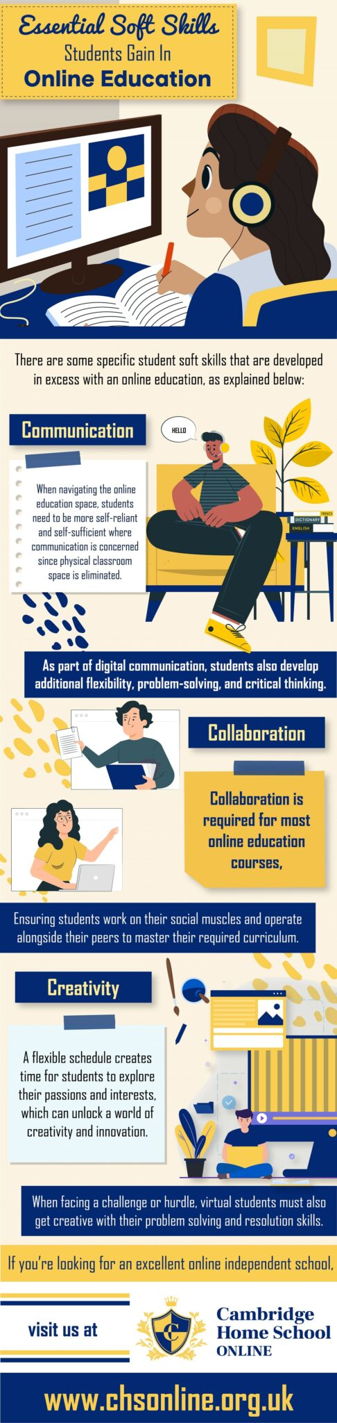 essential soft skills student gain in online education
